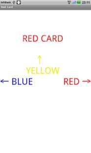 RED Card (flick version)- screenshot thumbnail