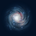 HD Galaxy Live Wallpaper icon