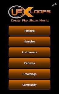 uFX loops Music Studio