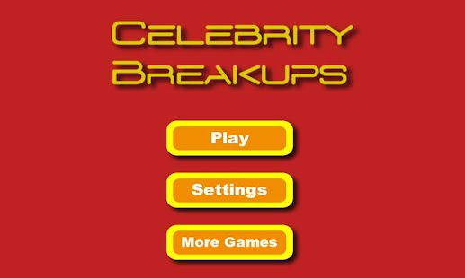Celebrity Breakups- screenshot thumbnail