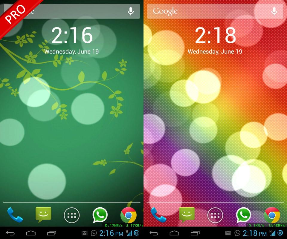 Bokeh 3D Live Wallpaper- screenshot