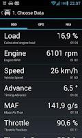 Screenshot of OBD Dashboard (Free)