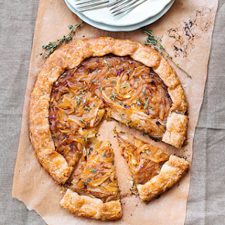 Caramelized Onion Galette