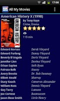 Screenshot of All My Movies