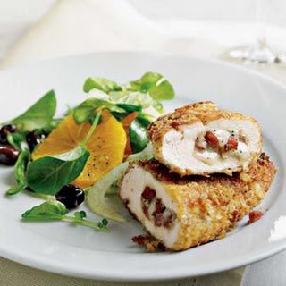 Provolone & Pancetta Stuffed Chicken Breasts.