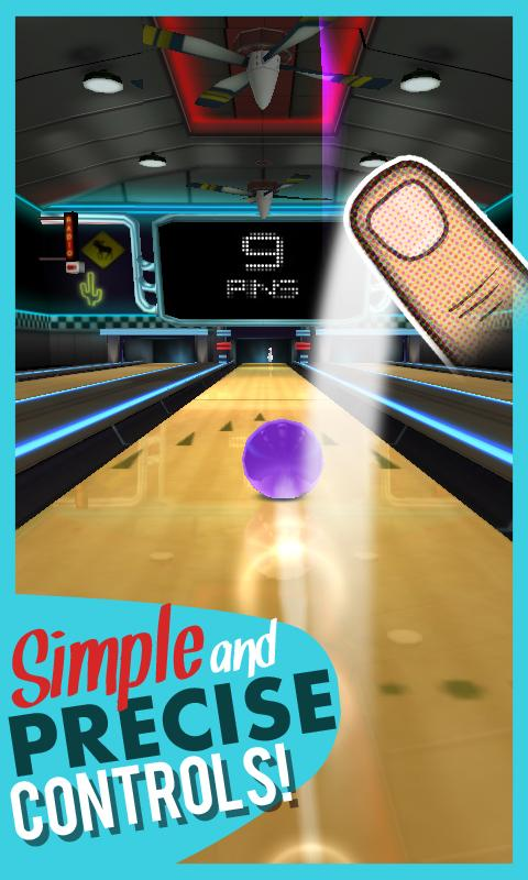 Rocka Bowling 3D - screenshot