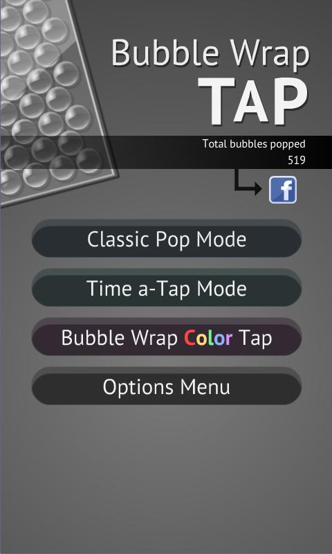 Bubble Wrap TAP - screenshot
