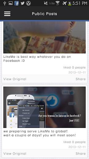 【免費社交App】Temporary Not Supported)LikeMe-APP點子