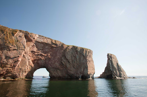 Gaspesie-landscape-Quebec - Gaspesie, a national park and peninsula of majestic landscapes in Quebec.