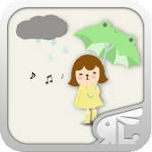 (FREE) RainCoat Girl ADW Theme