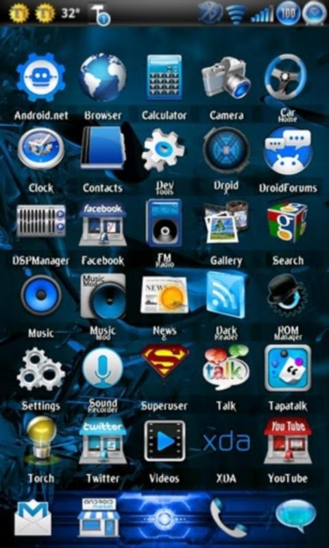 EpicBlue Theme CM7 (FREE) - screenshot