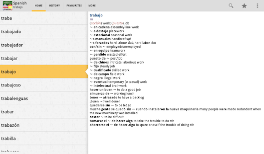 Dictionary English<>Spanish TR- screenshot thumbnail