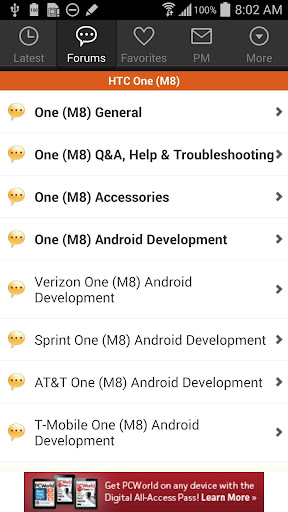 XDA for Android 2.3