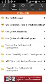 XDA for Android 2.3 Screenshot 2