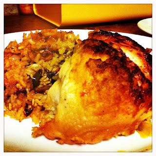 Spanish Chicken.