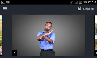 Screenshot of Deaf Bible