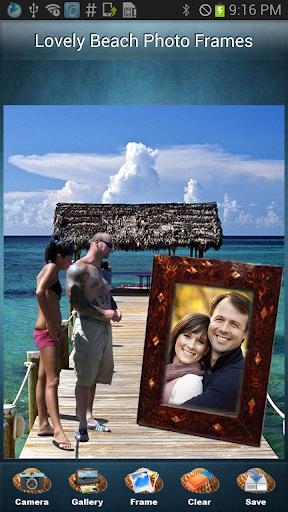 玩攝影App|迷人的海灘相框免費|APP試玩