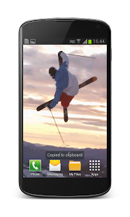 Freestyle Skiing Wallpaper 3D- screenshot thumbnail