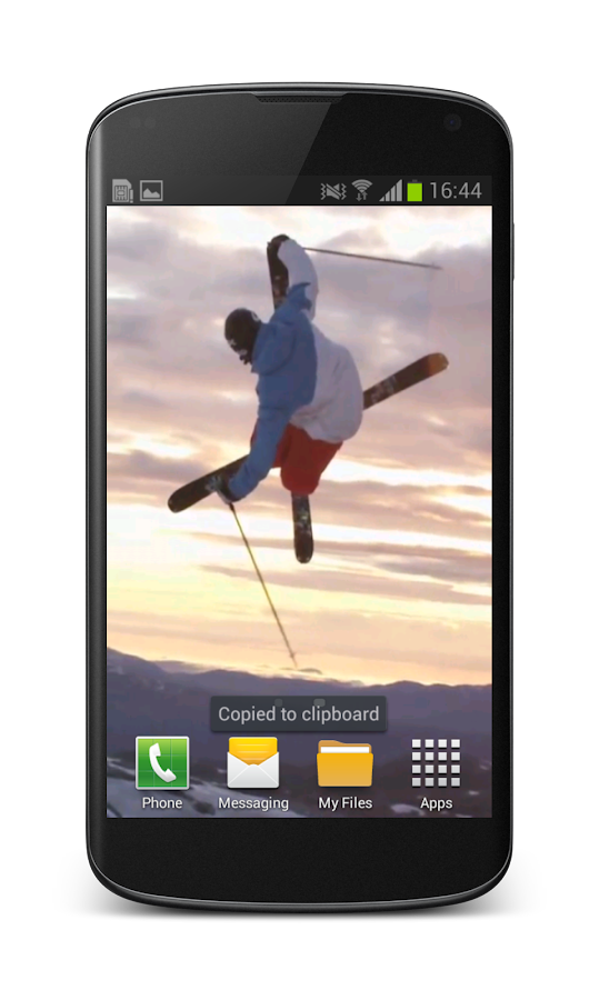 Freestyle Skiing Wallpaper 3D- screenshot