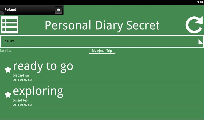 Screenshots for Private Diary Secret