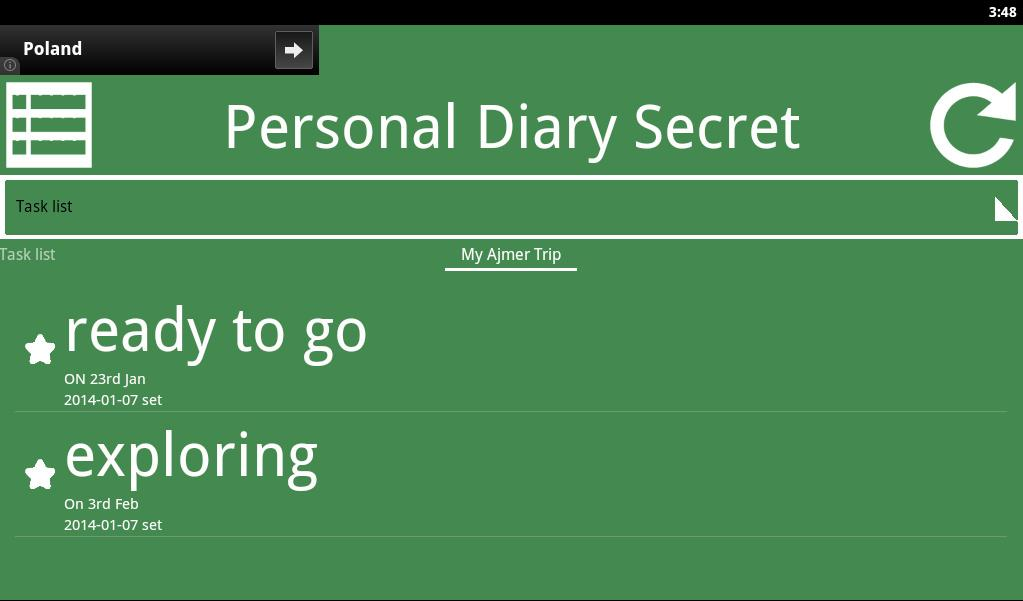 Private Diary Secret- screenshot