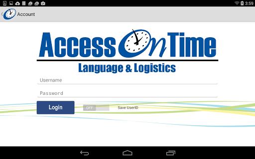 AccessOnTime 2.3 screenshots 17