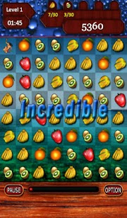Swiped Fruits - screenshot thumbnail