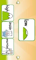 Screenshot of Kids Opposite Words Game Lite