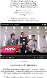 One Direction, Fondos y Letras - screenshot thumbnail