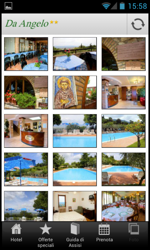 Hotel Ristorante Da Angelo - screenshot