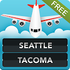 FLIGHTS Seattle Tacoma Airport icon