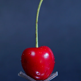 Cherry and forks ... by Joseph Muller - Food & Drink Fruits & Vegetables ( cherry and forks ...,  )
