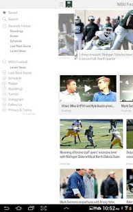 MLive.com: MSU Football News - screenshot thumbnail