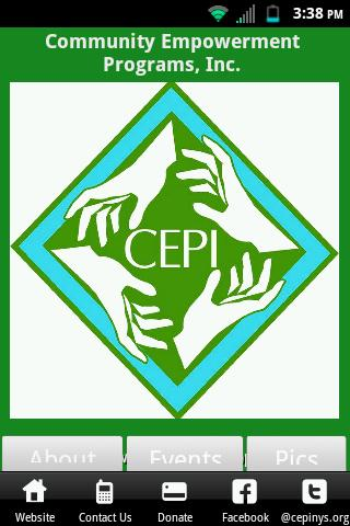 CEPI NYS- screenshot