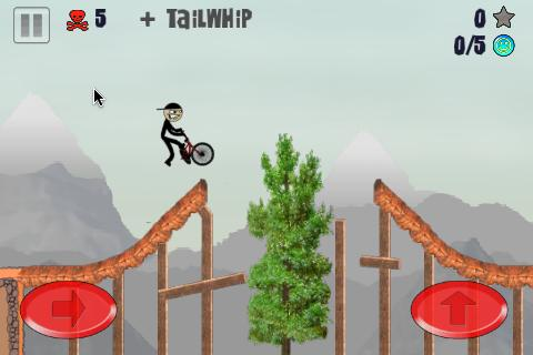 Stickman BMX- screenshot