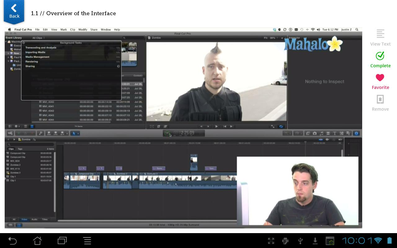 Learn Final Cut Pro X- screenshot