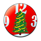 Xmas Tree Clock Widget icon