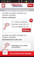 Screenshot of LHR Emploi