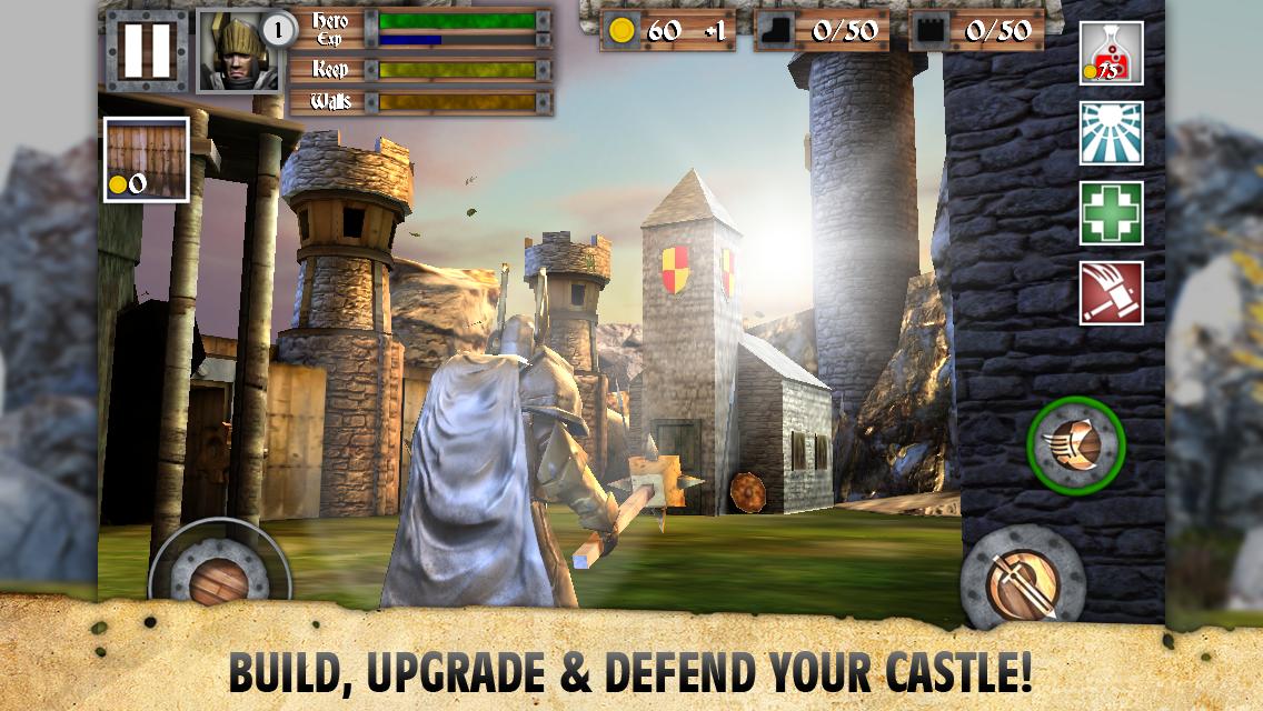 Heroes and Castles screenshot #3