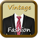 Vintage Man Fashion - 1970 icon