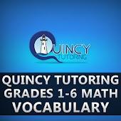 Math Vocabulary Grades 1 - 6