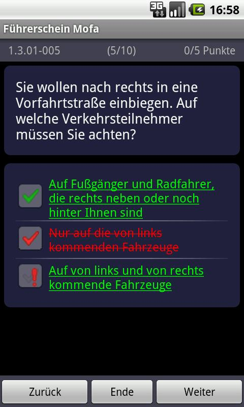 German Driving License (Moped)- screenshot