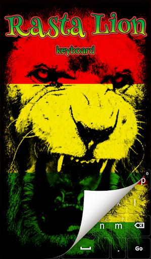 Rasta Lion Keyboard