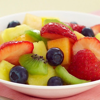 Very Vanilla Fruit Salad.