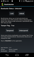 Screenshot of BootUnlocker for Nexus Devices