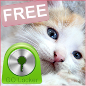 GO Locker Theme Sweet Kitty