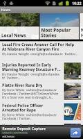 Screenshot of NTV News Mobile App