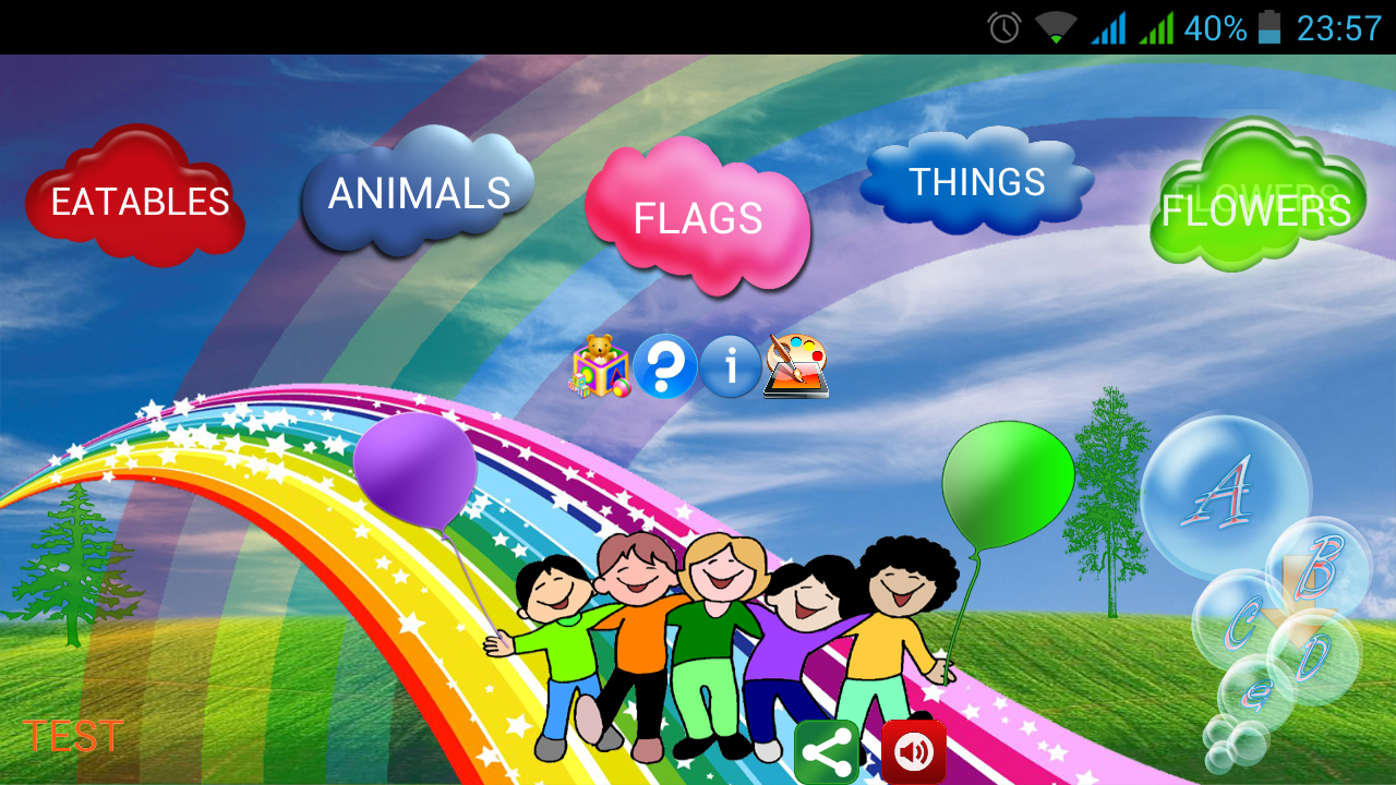 Play with Alphabets full Free - screenshot