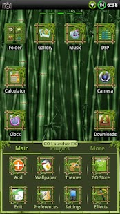 Bamboo GO Launcher EX Theme- screenshot thumbnail