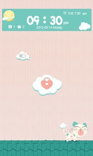 T-LOVELY CAT GO LOCKER THEME - screenshot thumbnail